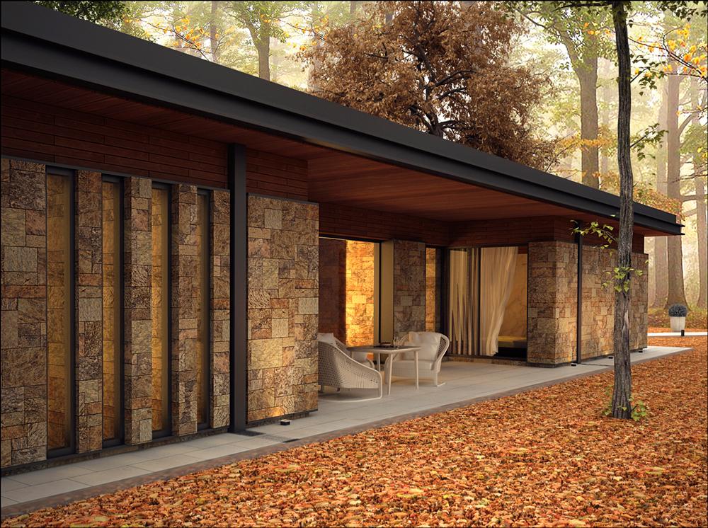 Casa Foresta porche