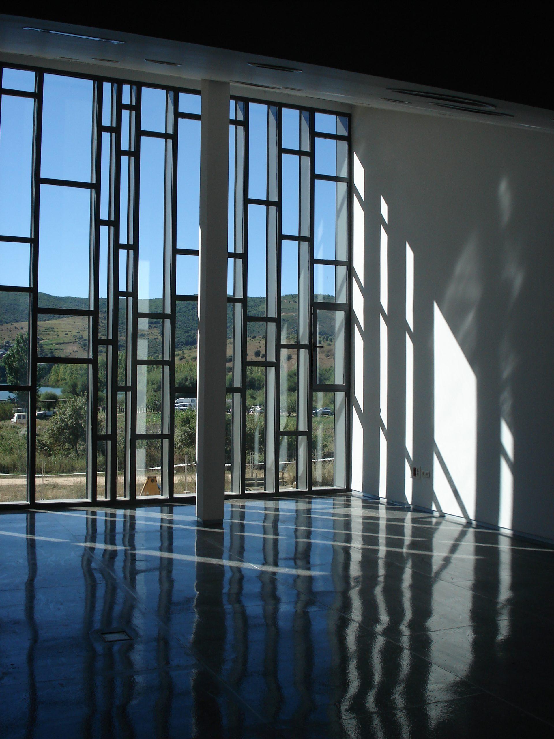 Casa Parque Medulas cristalera mirador
