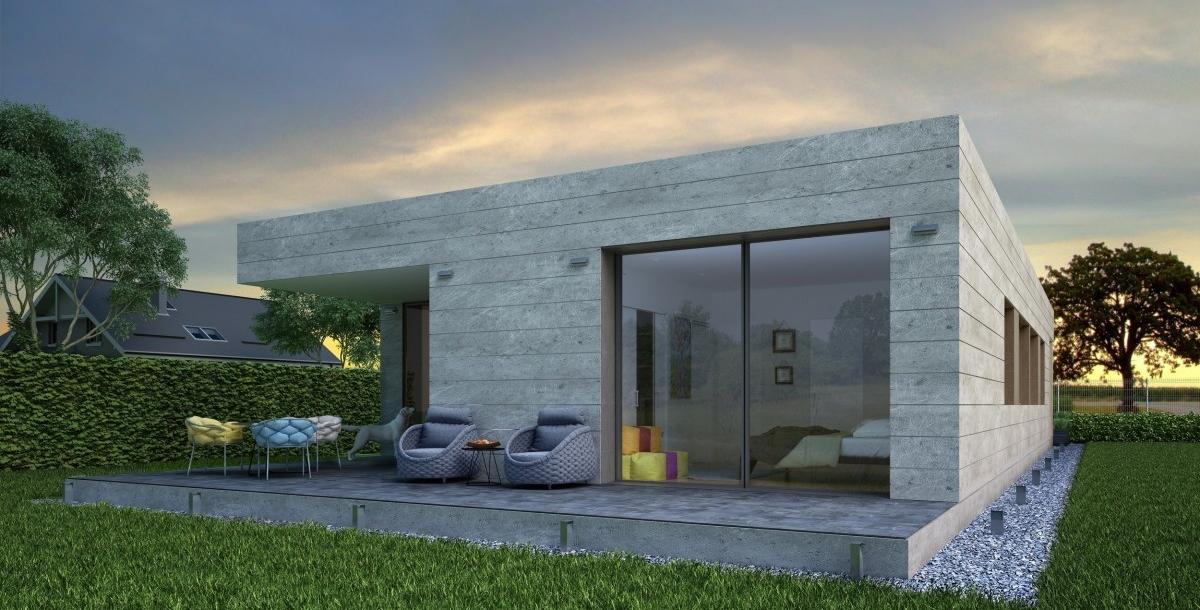 Casa Pasiva Altea porche