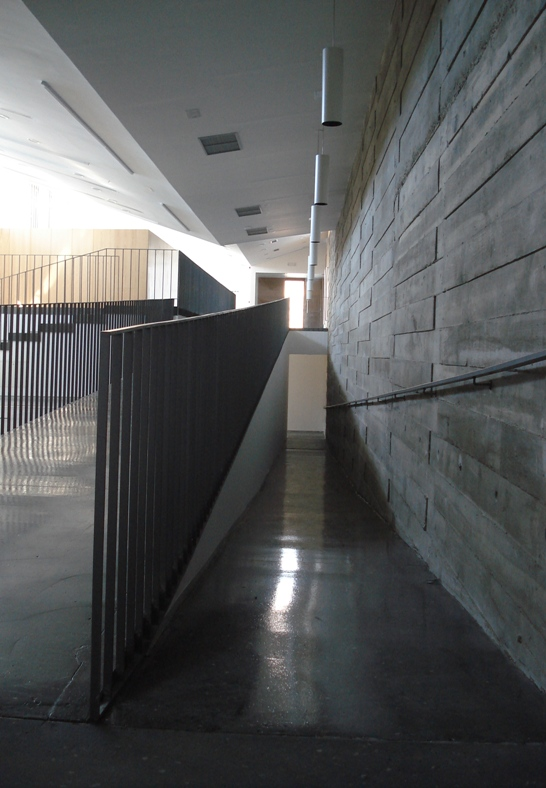 Interior de hormigón