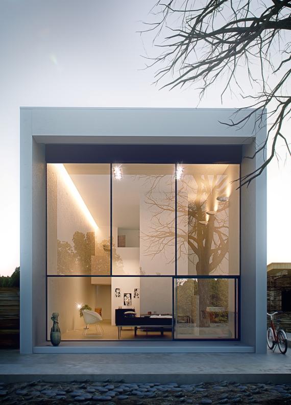 casa modular urbana
